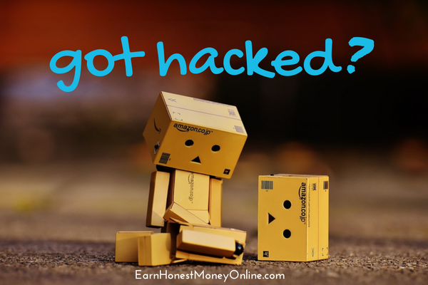 Sad Danbo got hacked