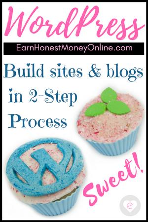 Build WordPress website in 2-Step Process