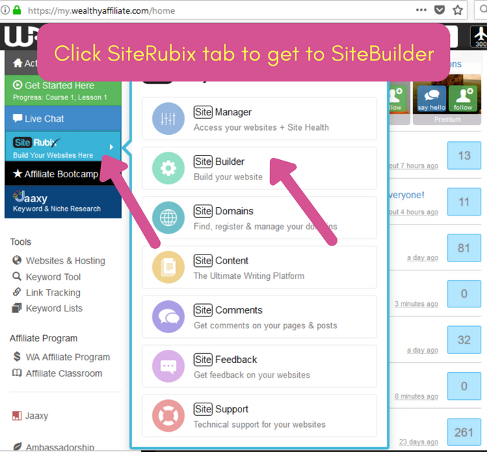 Click SiteRubix to get WordPress Site Builder