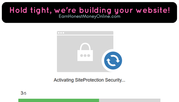 Hold tight we are building your website