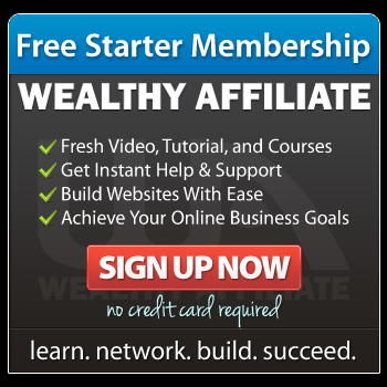 Wealthy Affiliate Free Member Starter Site Offer